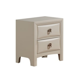 The Curated Nomad Steiner Nightstand Almond
