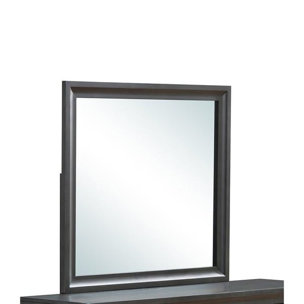 Global Furniture Wyatt Mirror - Grey