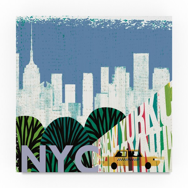 shop michael mullan new york city life nyc canvas art on sale