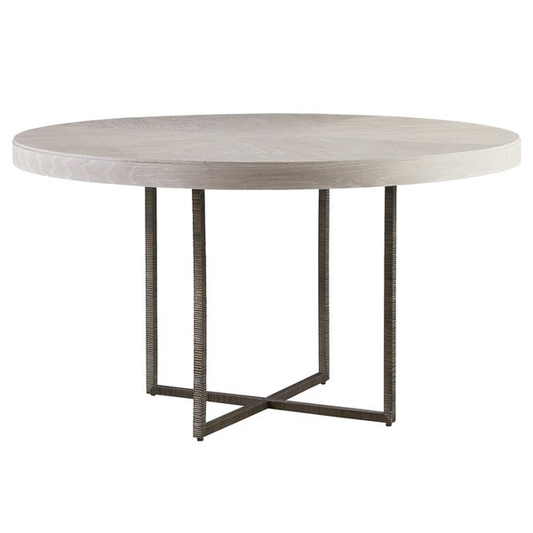 Carbon Loft Kimiko Modern Quartz Bronze Round Dining Table