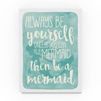 Erin Clark 'Mermaid' Canvas Art
