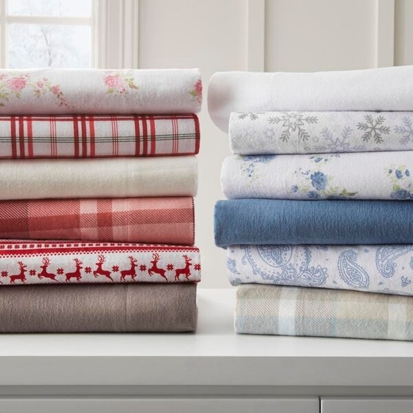Ordinaire Becky Cameron Premium Ultra Cozy 4 Piece Flannel Bed Sheet Set