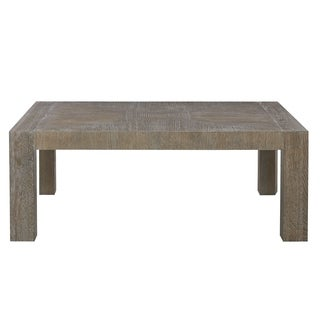 Universal Furniture Charcoal Wood Modern Rectangle Cocktail Table