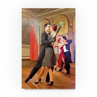 Ata Alishahi 'Dance With Me' Canvas Art
