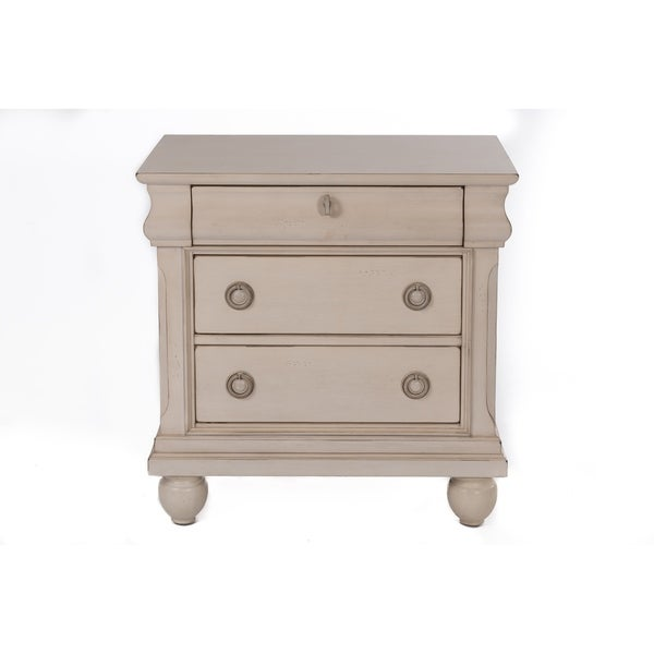 Shop Rustic Traditions II Rustic White Night Stand