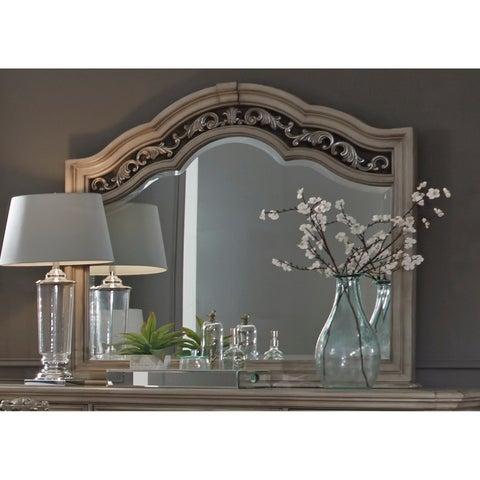 Messina Estates Dove Grey Mirror