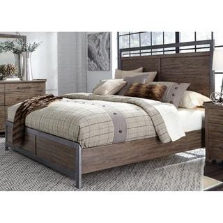Sonoma Road Weather Beaten Bark Queen Panel Bed