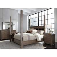 Liberty Sonoma Road Weather Beaten Bark King Poster Bed