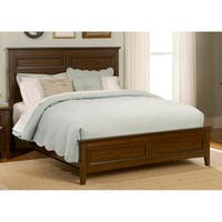Laurel Creek Cinnamon Queen Panel Bed