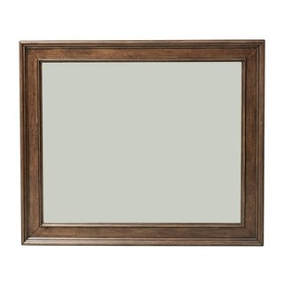 Rustic Traditions Rustic Cherry Landscape Mirror