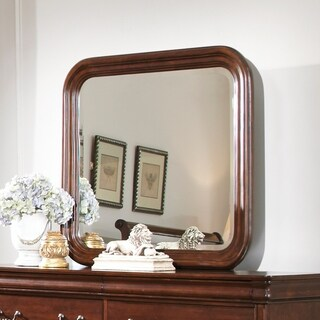 Carriage Court Mahogany Stain Mirror