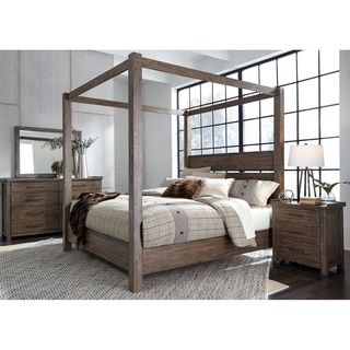 Customer Ratings  sc 1 st  Overstock.com & Buy Canopy Bed Wood Online at Overstock | Our Best Bedroom ...