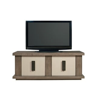 Universal Furniture Synchronicity Horizon Bronze Brown Wood 2-door Entertainment Console