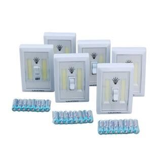 Ultra Performance 6pc 200 Lumen COB Cordless Light Switches|https://ak1.ostkcdn.com/images/products/18706038/P24795486.jpg?impolicy=medium