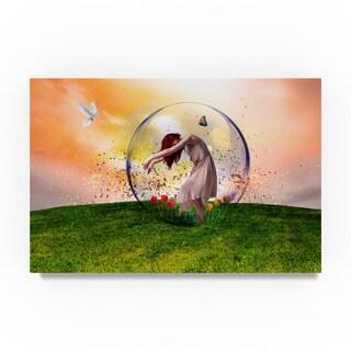 Ata Alishahi 'In The Bubble' Canvas Art