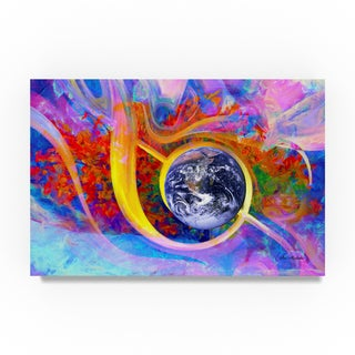 Ata Alishahi 'Earth' Canvas Art