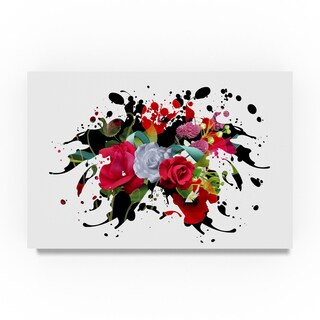 Ata Alishahi 'Explosion' Canvas Art
