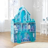 KidKraft Disney Frozen Ice Crystal Palace Dollhouse