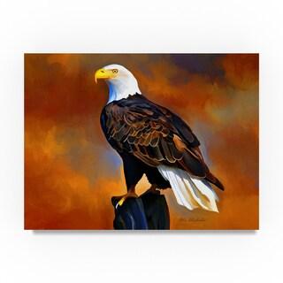Ata Alishahi 'The Eagle' Canvas Art