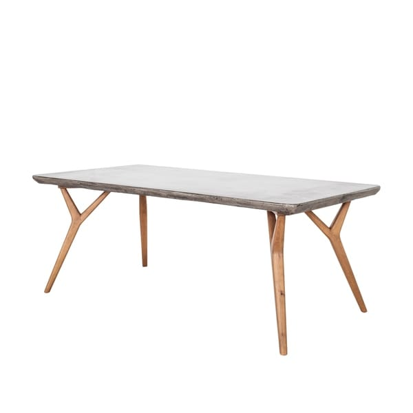 Remarkable Shop Aurelle Home Concrete Dining Table On Sale Ships To Download Free Architecture Designs Jebrpmadebymaigaardcom