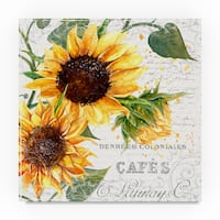 Irina Trzaskos Studio 'Summertime Sunflowers II' Canvas Art