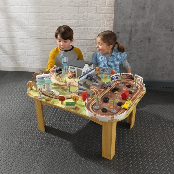 Disney® Pixar Cars 3 Thomasville Track Set u0026&; Table & Disney® Pixar Cars 3 Thomasville Track Set u0026 Table - Free Shipping ...