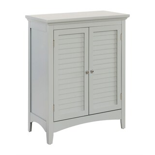 """32""""H Bayfield Double Door Floor Cabinet with two Shutter Doors"""