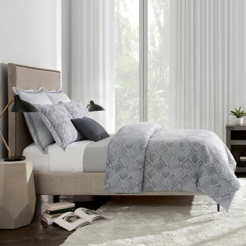 WestPoint Home Watercolor Jacquard Duvet Cover