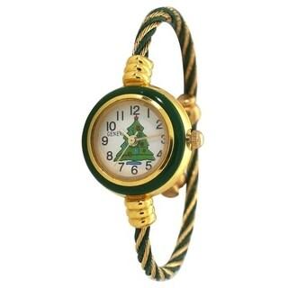 Olivia Pratt Holiday Bangle Watch (2 options available)