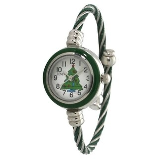 Olivia Pratt Holiday Bangle Watch