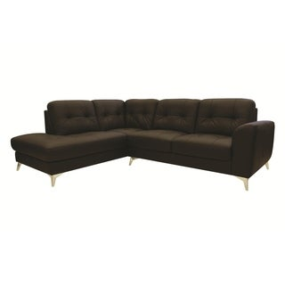 Cedric Leather Sectional Sofa