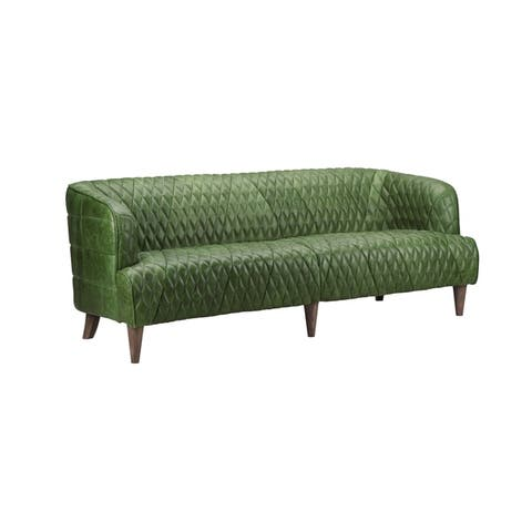 Green, Leather Living Room Furniture | Find Great Furniture ...