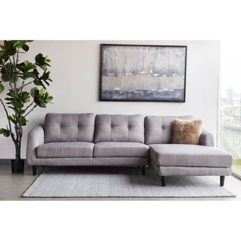 Aurelle Home Ragnar Mid-Century Modern Sectional Sofa