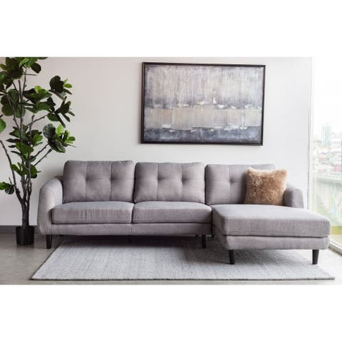 Aurelle Home Mid-Century Sectional Sofa