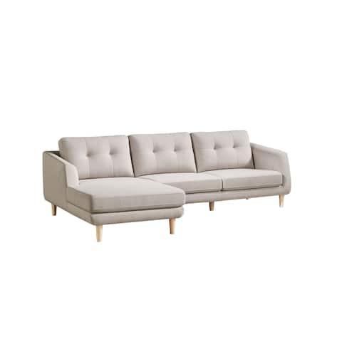 Aurelle Home Ursula Modern Sectional Sofa