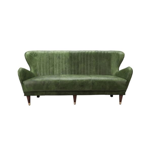 Stupendous Shop Aurelle Home Kara Mid Century Modern Leather Accent Machost Co Dining Chair Design Ideas Machostcouk