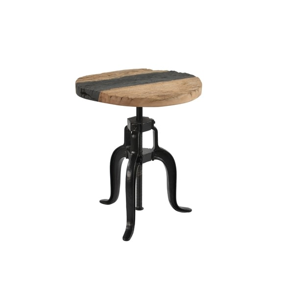 Aurelle Home Ironsmith Multi Wood Accent Table