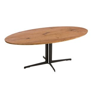 Buy Oval Kitchen Dining Room Tables Online At Overstockcom Our - Oblong pedestal dining table