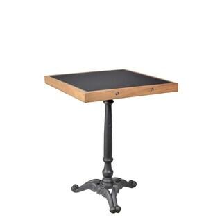 Aurelle Home Horizon Dark Grey Iron Bar Table