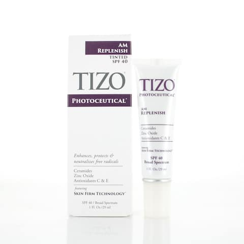 TIZO Photoceutical AM Replenish Lightly Tinted SPF 40 1.75 fl oz