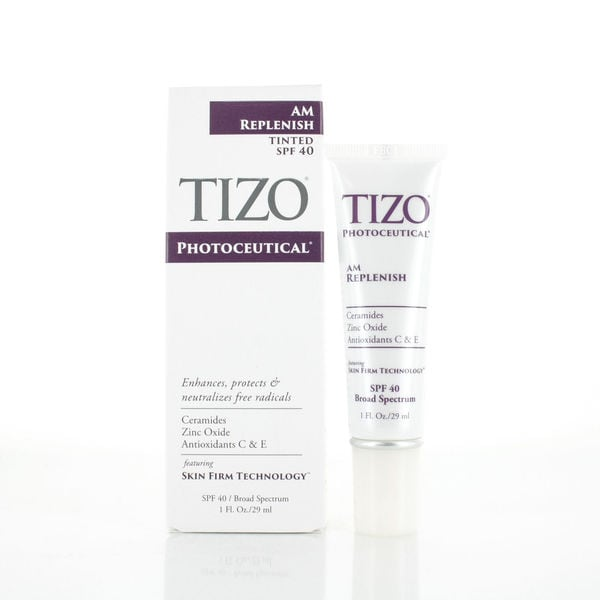 TIZO Photoceutical AM Replenish Lightly Tinted SPF 40 1.75 fl oz