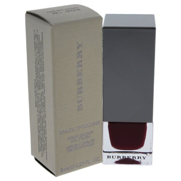 Burberry Nail Polish 303 Oxblood