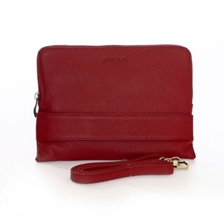 Ivy Leather Crossbody Bag for Mini-Tablet or Smart Phone