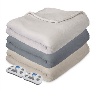 Serta Comfort Plush Heated Electric Blanket