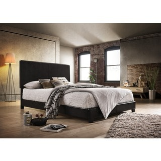 Amelia Black Upholstery Bed