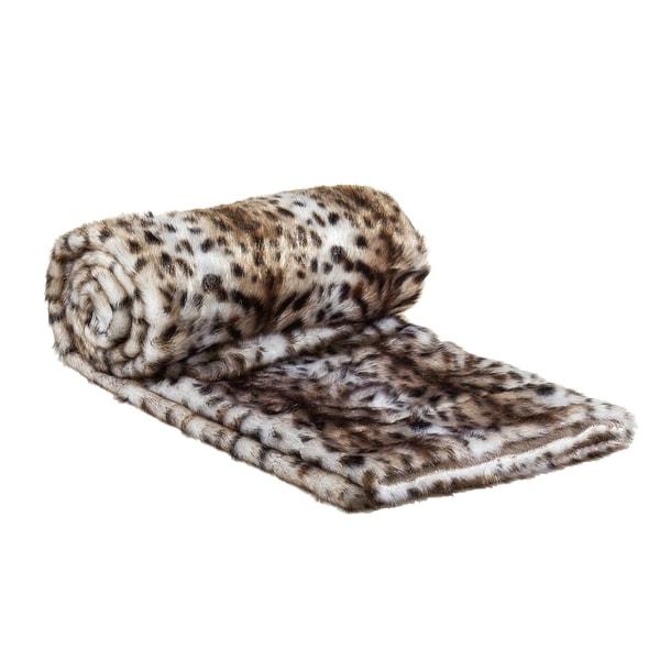 Jaguar Faux Fur Throw Blanket. Opens flyout.