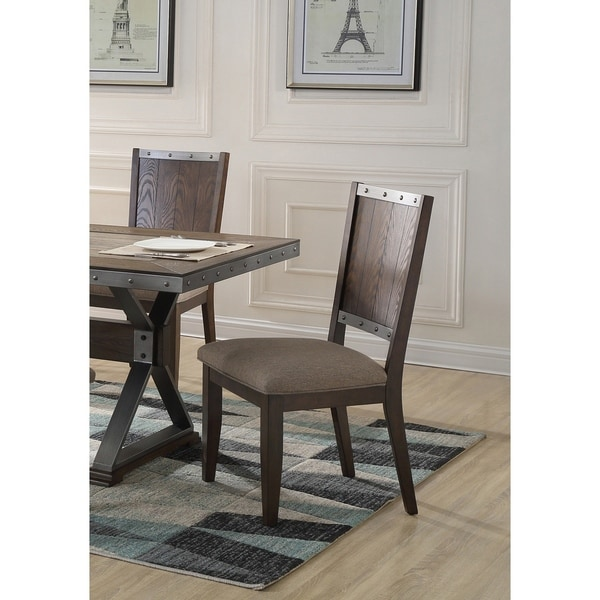 Best Home Furniture Reviews: Shop Best Master Furniture DX1520 Side Chairs (Set Of 2