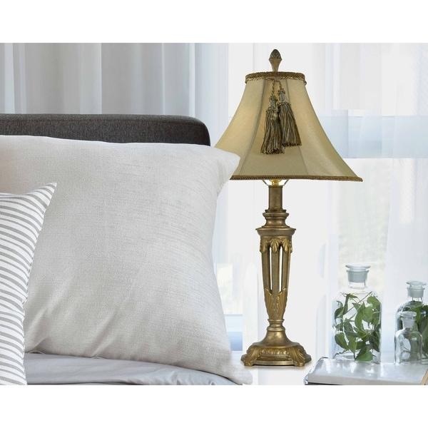 "Springdale 28.5""H Tassle Table Lamp"