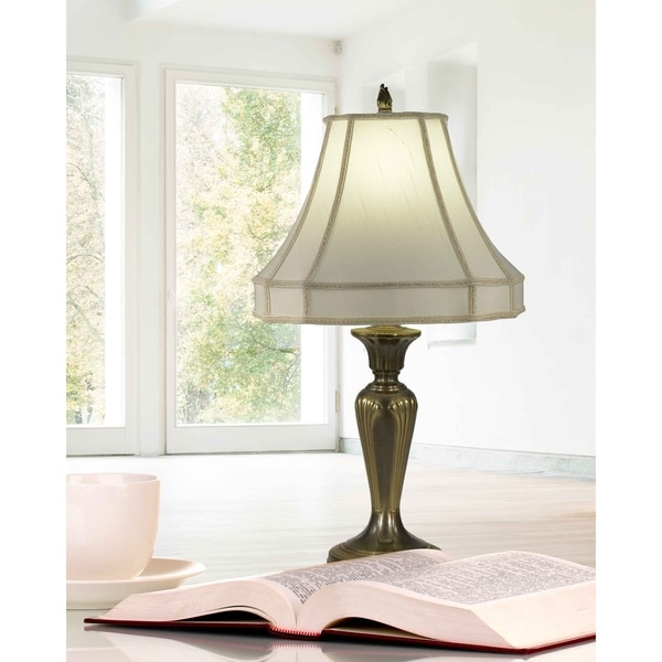 "Springdale 36""H Ecru Table Lamp"