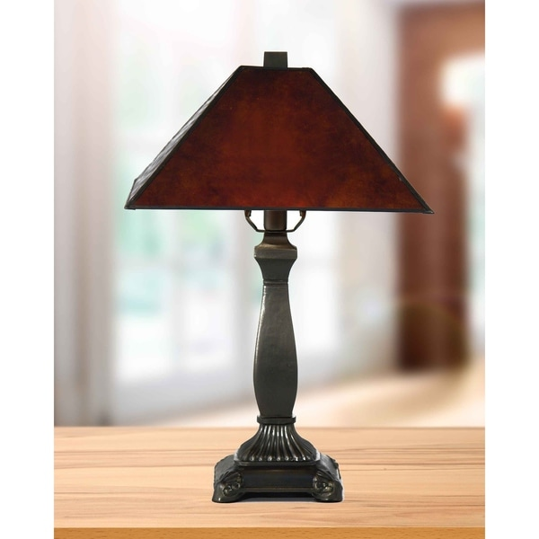 "Springdale 18.5""H Camelot Mica Table Lamp"